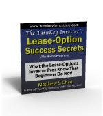 The TurnKey Investor's Lease-Option Success Secrets